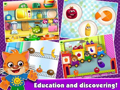 Download FunnyFood Kindergarten learning games for toddlers 1.4.9.62 APK