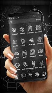 Download 3D Blackboard Graffiti Theme 1.1.2 APK