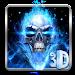 Download 3D Blue Fire Skull Theme Launcher 1.1.15 APK