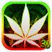 Download 3D Green Leaf Smoke Theme 1.1.8 APK