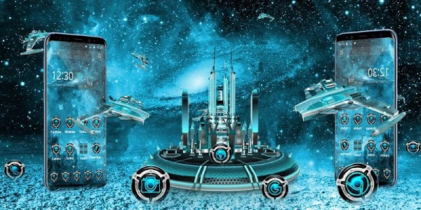 Download 3D Space Galaxy Theme 1.1.13 APK