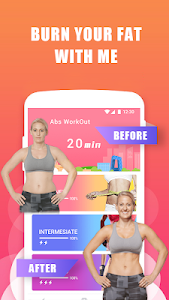 screenshot of Abs Training-Burn belly fat version 1.0.13