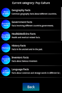screenshot of Absolutely Dumb Facts version 2.6