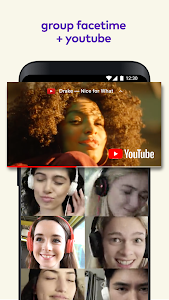 screenshot of Airtime: Group Facetime + YouTube version 4.1.1