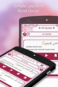 screenshot of Al Quran and Translation version 1.0.9