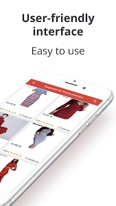screenshot of AliFeed shopping app. Goods from China online version 52.0