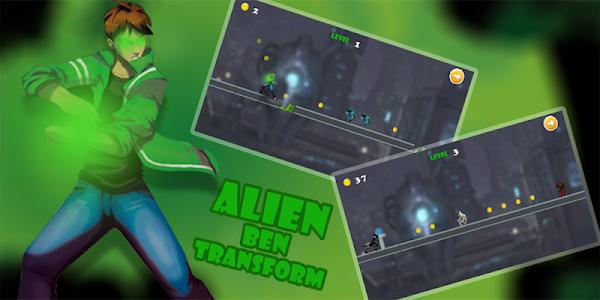 screenshot of Alien Ben Transform Evolution version 1.1