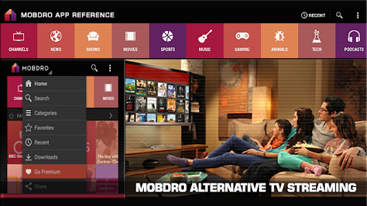Download Alternative Mobdro Review 2.0 APK