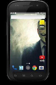 screenshot of Anonymous Hacker Wallpaper version 1.22