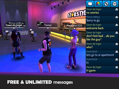 screenshot of Avakin Life - 3D virtual world version 1.009.004