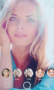 screenshot of B612 - Selfie from the heart version Varies with device