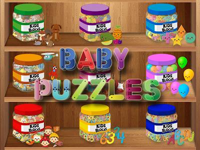 screenshot of Baby puzzles version 6.7