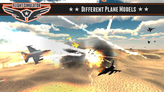 screenshot of Battle Flight Simulator 2014 version 1.06