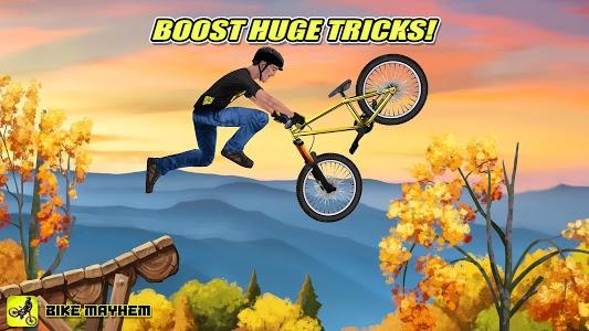 screenshot of Bike Mayhem Free version Varies with device