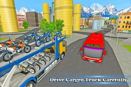 Download Bike Transport Truck Driver 2.2 APK
