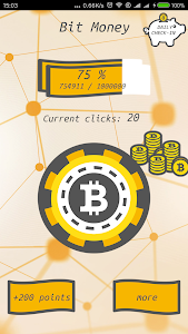Download Bit Money - Click & Earn Free Cash with Bitcoin 1.1 APK
