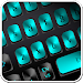 Download Black Blue Metal Keyboard 10001003 APK