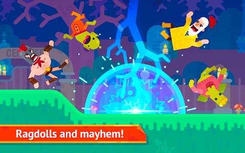 screenshot of Bowmasters version 2.12.5