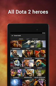 Download Dota Plus Builds 5.0.0 | 7.19c and app selection APK