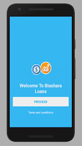 screenshot of Biashara Loan version 1.0