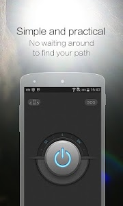 screenshot of CM Flashlight (Compass, SOS) version 1.2.9