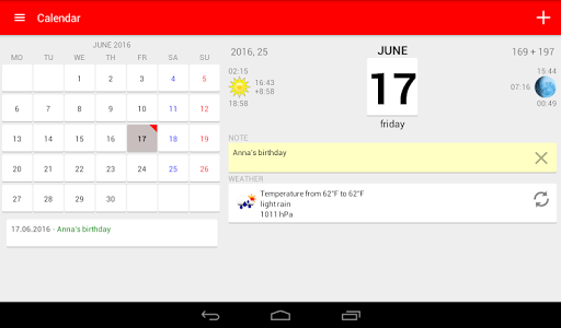 Download Calendar 5.17 APK