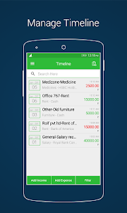 screenshot of Daily Account Manager Book - Income & Expense version 1.0.11