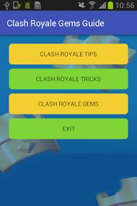 Download Clash Royale Gems Guide 2.0 APK