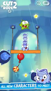 screenshot of Cut the Rope 2 version 1.6.6