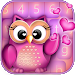 Download Cute Owl Keyboard Changer 9.0 APK