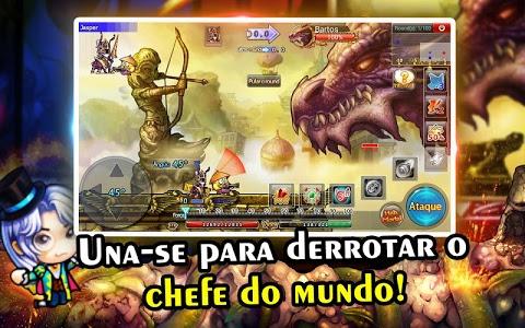 screenshot of DDTank Brasil version 2.3.0.0