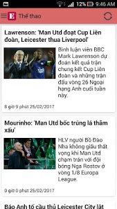 screenshot of Đọc Báo VnExpress version 1.6