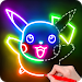 Download Draw Glow Cartoon - How to draw 1.0.9 APK