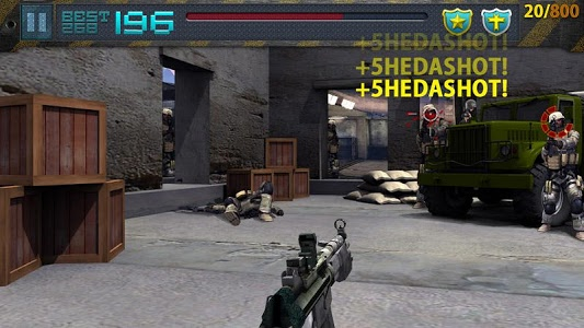 screenshot of EAGLE NEST - Sniper training version 1.30