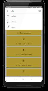 Download English Vocabulary Builder for GRE, TOEFL & IELTS 1.12.1 APK