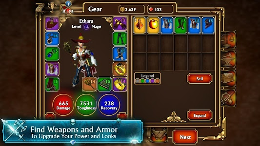 screenshot of Eternium version 1.3.34