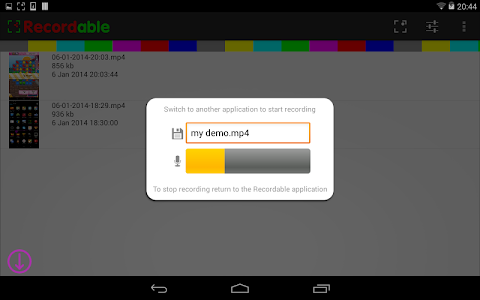 Download FREE screen recorder NO ROOT 4.2.0.6 APK