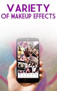 screenshot of FaceAPP Makeup version 1.0