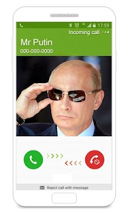screenshot of Fake Call - Fake Caller ID version Varies with device