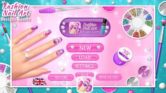 Download Fashion Nail Art Designs Game 8.0.1 APK