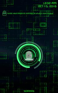 screenshot of Fingerprint Lock Screen Prank version 1.3