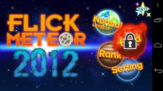 Download Flick Meteor 2012 1.0 APK
