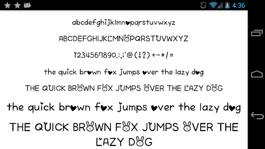 Download Fonts for FlipFont 50 Written 3.23.0 APK
