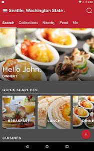 screenshot of Zomato - Restaurant Finder version 7.3.2