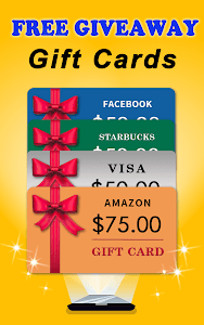 screenshot of Free Giveaways: Gift Cards & Gifts App for FREE version 1.52