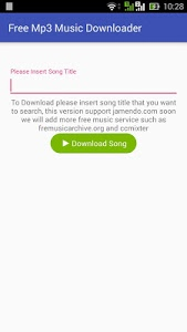 Download Free Mp3 Music Download 2.0 APK