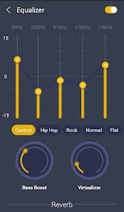 screenshot of GO Music Plus Player- Free Music, Radio, MP3 version 2.2.3
