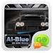 Download GO SMS PRO AiBlue ThemeEX 1.0 APK