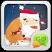 Download GO SMS Pro Santa Super Theme 1.0 APK