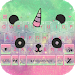 Download Cuteness Panda Keyboard Theme - Cute Emojis,Gifs 1 APK